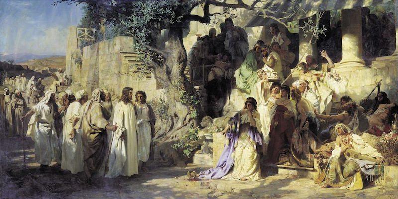 Христос — избранный Богом Царь